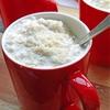 Coconut milk risotto (Arborio rice pudding)