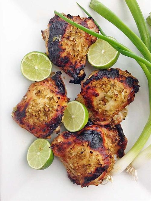 Caribbean Chicken Thighs