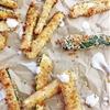 Baked Panko Zucchini Sticks
