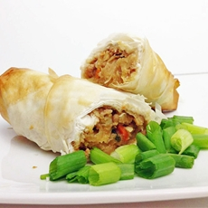 Healthy Monster Egg Rolls
