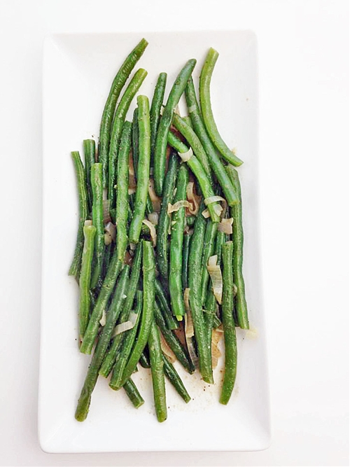 Easiest Green Beans