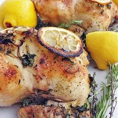 Lemon Herb Game Hens