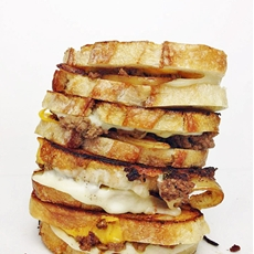 Sourdough Patty Melts