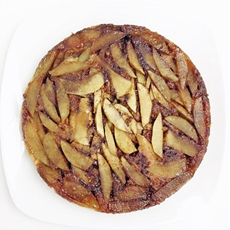 Upside Down Apple Muffin Cake