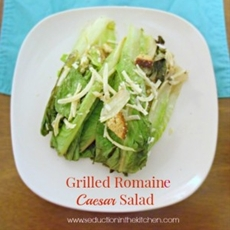 Grilled Romaine Caesar Salad