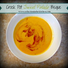 Crock Pot Sweet Potato Bisque