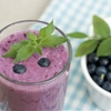Blueberry Avocado Breakfast Smoothie