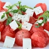 Watermelon, Arugula and Feta Cheese Salad