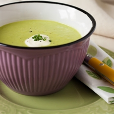 Easy Peas and Mozzarella Cream Soup Your Little Advisor