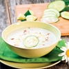 Cold Cucumber Soup, Perfect For Hot Summer Days