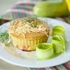 Savory Zucchini Cheddar Muffins