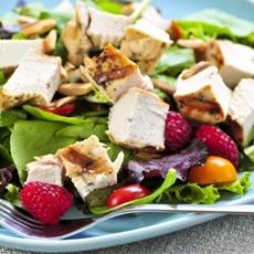 Raspberry Chicken Salad (Gluten Free)