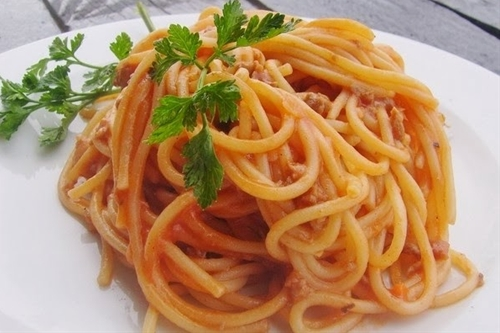 Roasted Red Pepper Pasta (Vegan and Gluten Free)