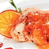 Grilled Chicken Breast with Orange Sauce