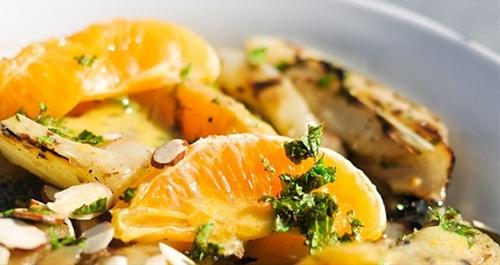 Grilled Fennel and Orange Salad