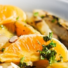 Grilled Fennel and Orange Salad