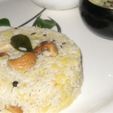 Ven Pongal (home-style)