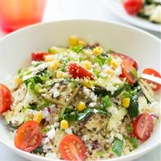 Zucchini Couscous Salad