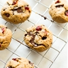 Cashew Butter Cookies with Cranberry and Chocolate Chips
