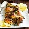 Roasted Lemon Chicken Legs