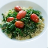 Warm Collard Quinoa Salad
