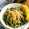 Roasted Green beans with Garlic Panko
