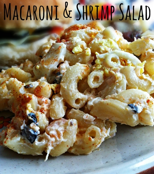 Macaroni & Shrimp Salad