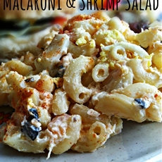 Macaroni & Shrimp Salad