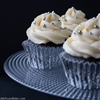 Dark Chocolate Cupcakes with White Chocolate Buttercream – Little Swee