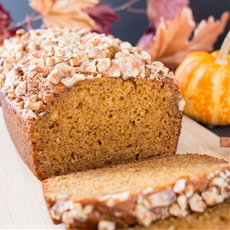 Spiced Pumpkin Bread (video)