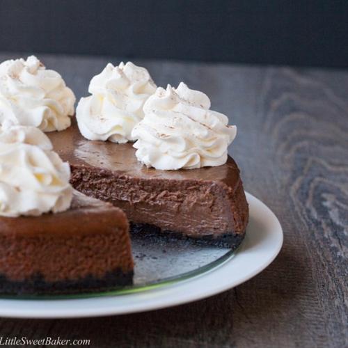Chocolate Cinnamon Cheesecake