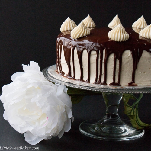 Triple Chocolate Shadow Cake