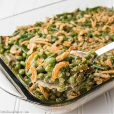 Green Bean Edamame Casserole