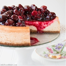 Ultimate Cherry Cheesecake