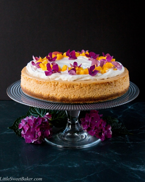 Mango Cheesecake (video)