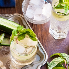 Cucumber and Elderflower Collins