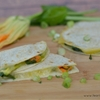 Gluten Free Squash Blossom and Epazote Quesadillas