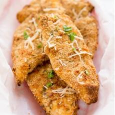 Crispy Baked Parmesan Chicken Tenders