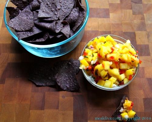 Mango Red Pepper & Cilantro Salsa