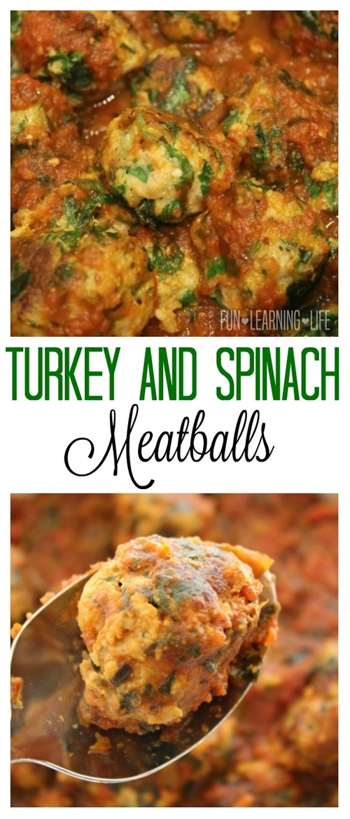 Turkey and Spinach Meatballs!