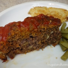 Applesauce and Stuffing Meatloaf