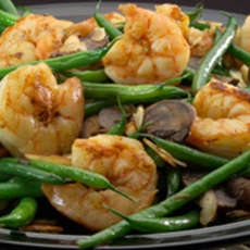 Sautéed Shrimp and Green Beans!
