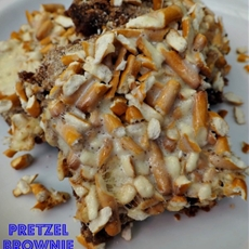 Pretzel Brownie