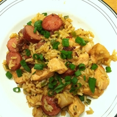 Brown Cajun Jambalaya