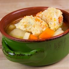 Veggie Semolina Dumplings