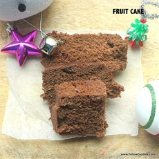 MICROWAVE FRUIT CAKE