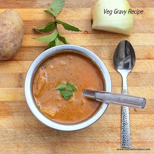 Vegetable Gravy