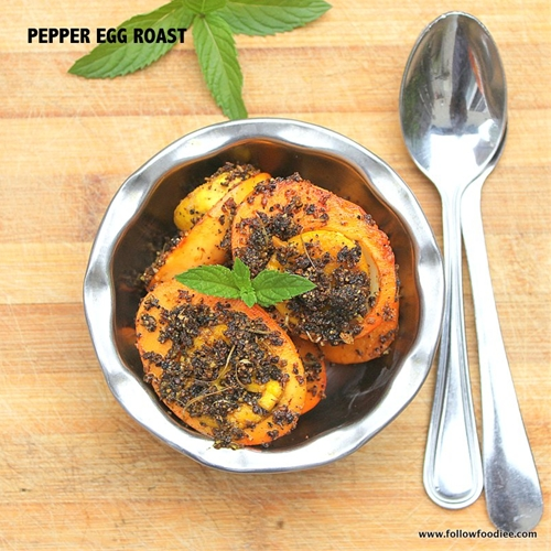 Egg Pepper Roast