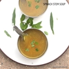 Spinach Stalk Soup