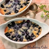 A Delicious Blueberry Cake for Two ( Can be Doubled or Tripled as well
